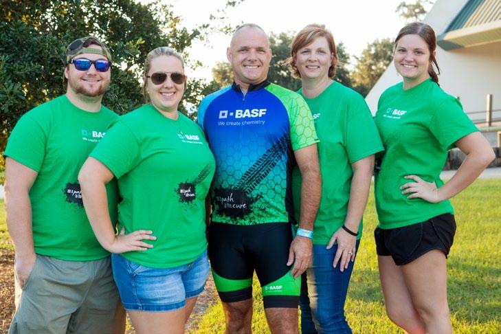 BASF Bike MS Team Members of Dat's How We Roll, 2016