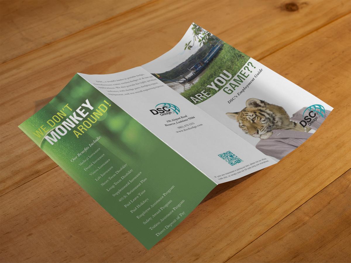 career fair brochure for hiring