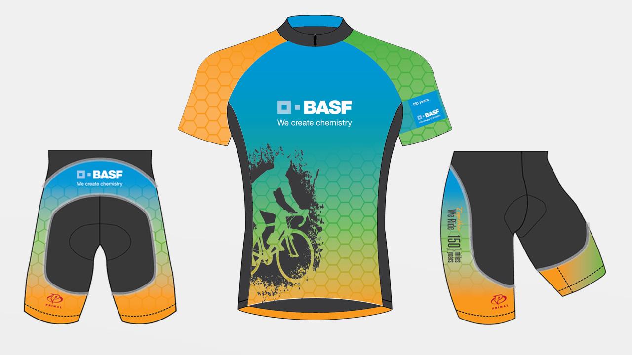 concept for BASF Bike MS Team Kit, 2015