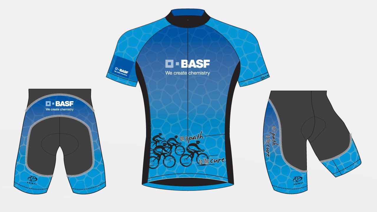 concept for BASF Bike MS Team Kit, 2017